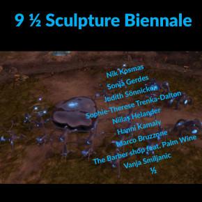 9 1/2 Sculpture Biennial. The Barber Shop feat. Palm Wine
