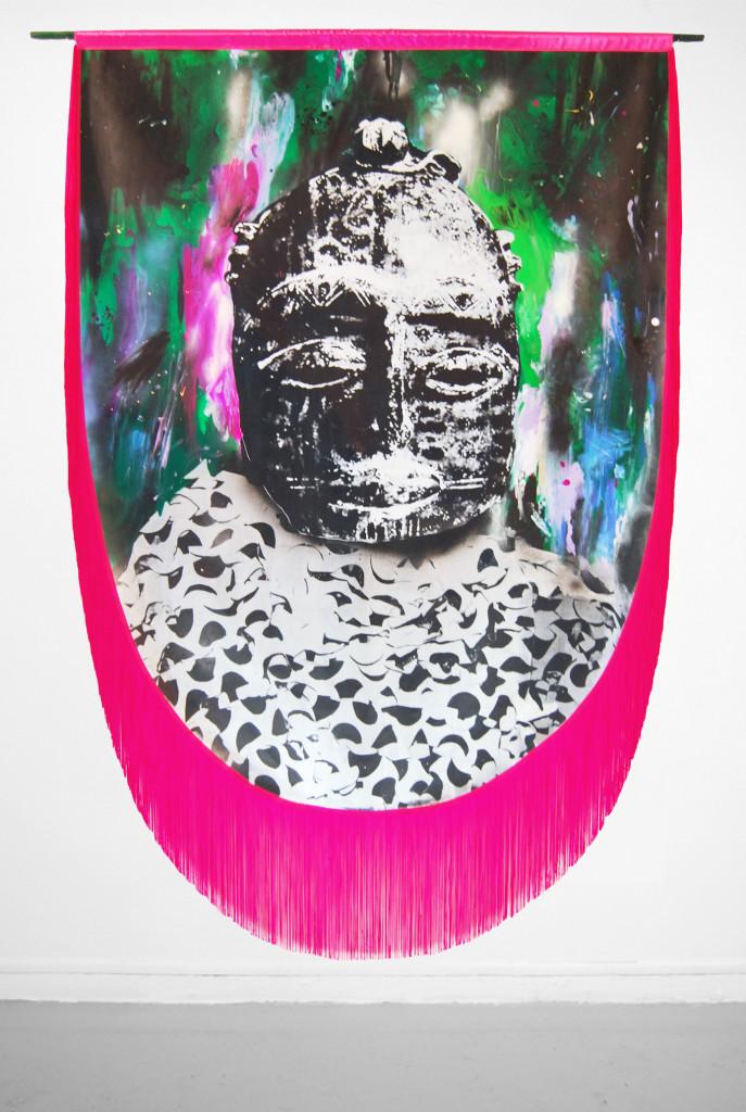 Raphaël Barontini, Serie «Célébrations», Sans Titre, 2012